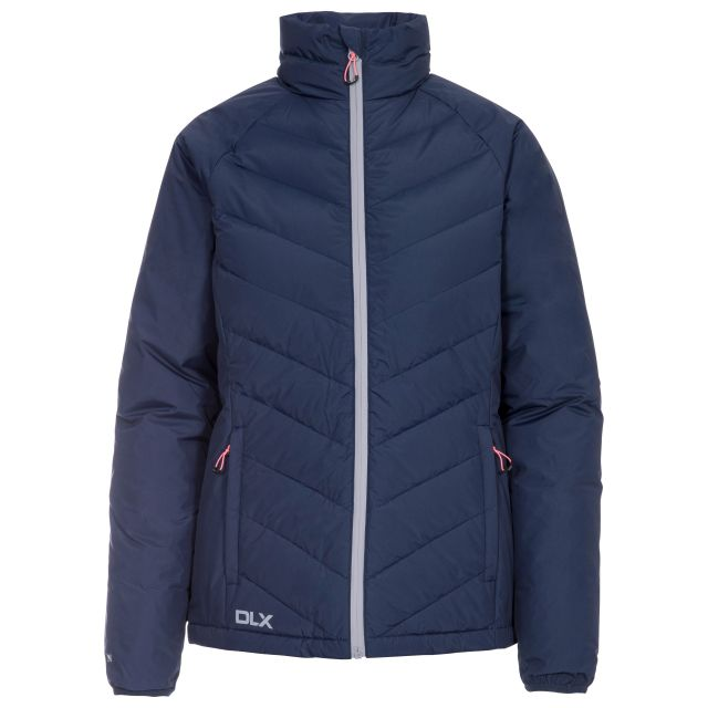 Sondra Women's DLX Down Jacket in Navy