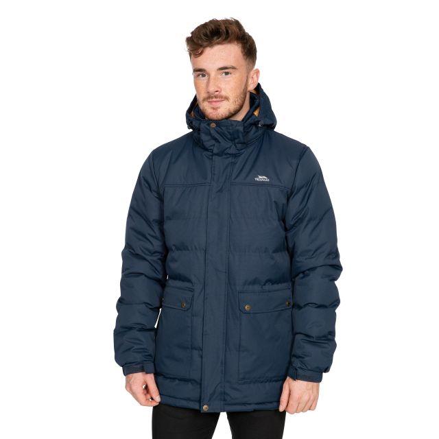 Specter Men's Padded Jacket in Navy