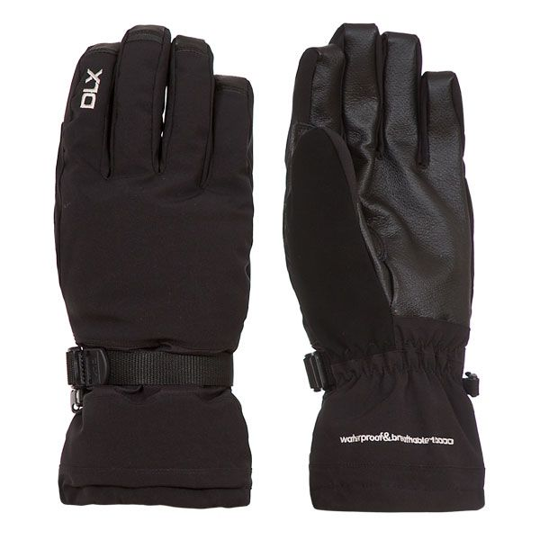 Spectre Unisex DLX Ski Gloves in Black