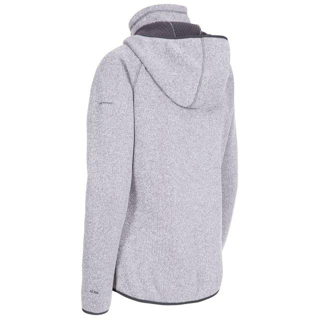 Splendor Women's Hooded Fleece Jacket in Grey