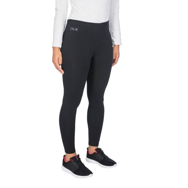 Splits Women's DLX Knitted Active Leggings - BLK