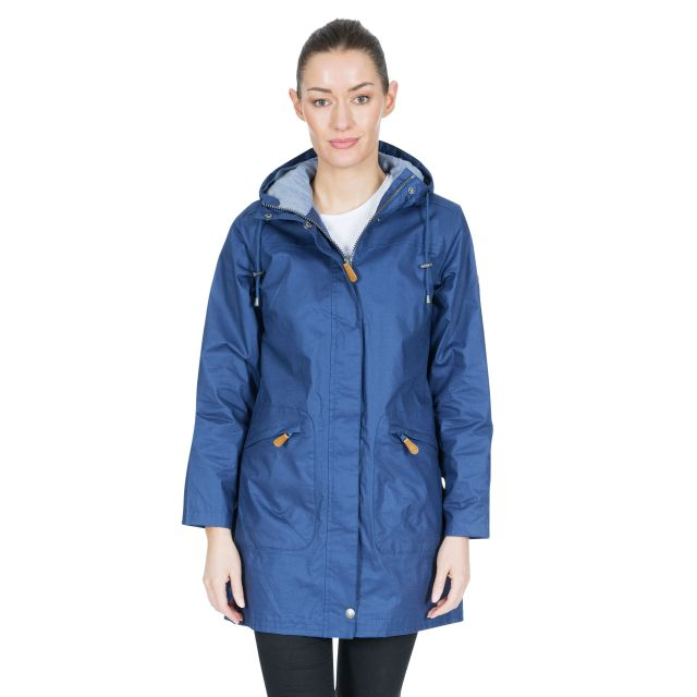 Sprinkled Women's Waterproof Jacket in Navy