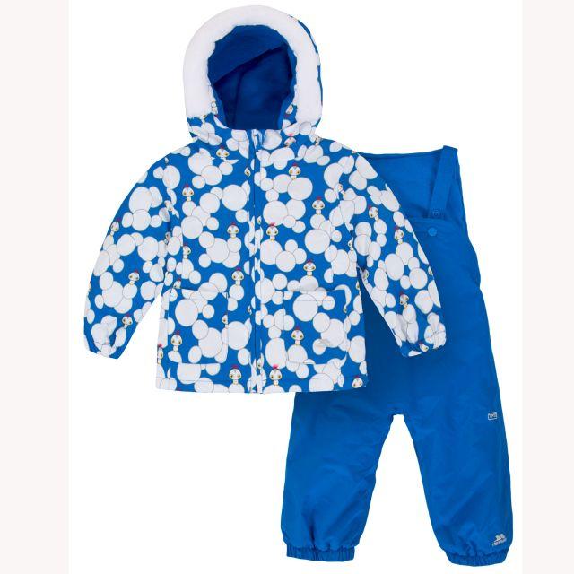 Squeezy Babies' Waterproof Ski Suit in Blue
