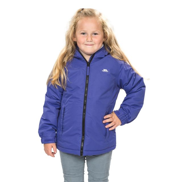 Staffie Girls' Waterproof Jacket in Purple