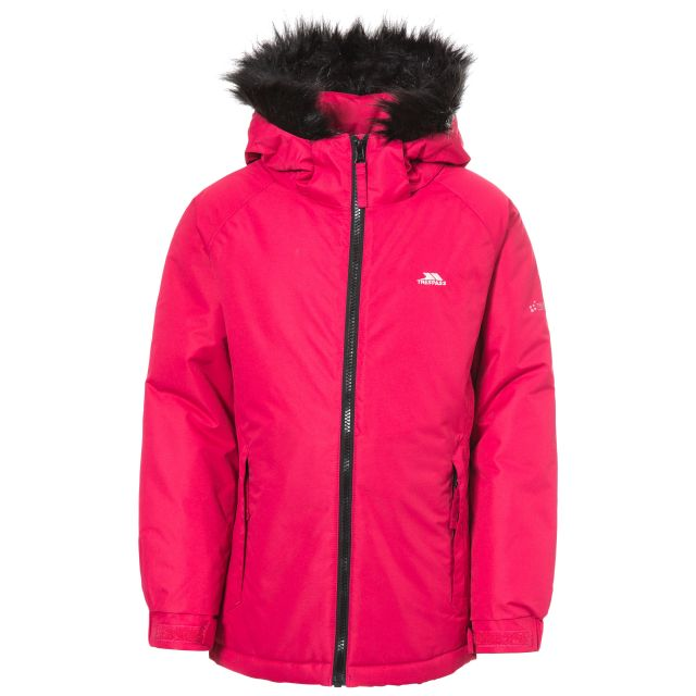 Staffie Girls' Waterproof Jacket in Pink
