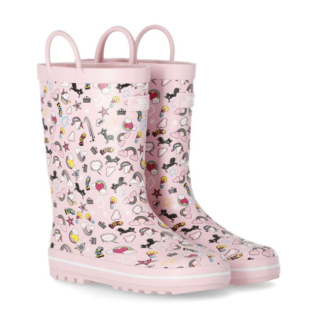 Starryton Kids Wellies in Pink