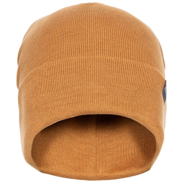 Stines Unisex Beanie Hat in Beige
