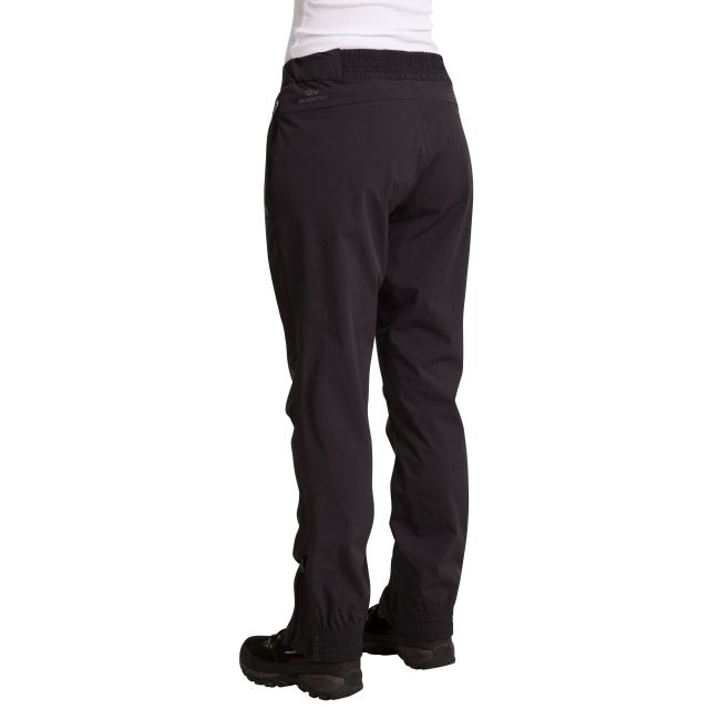Stormlight Women's Quick Dry Walking Trousers in Black