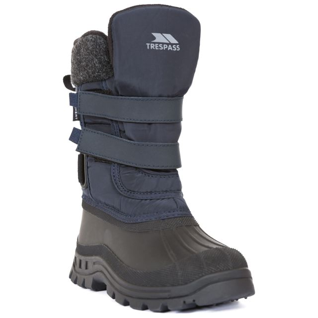 Strachan II Kids' Waterproof Snow Boots in Navy