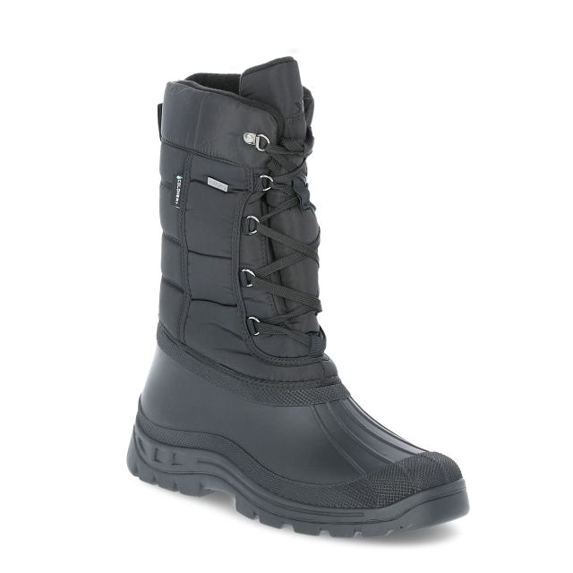 Straiton II Men's Snow Boots in Black