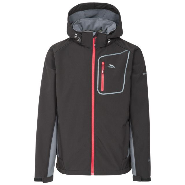 Strathy II Men's Softshell Jacket  in Black
