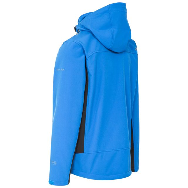 Strathy II Men's Softshell Jacket  in Blue