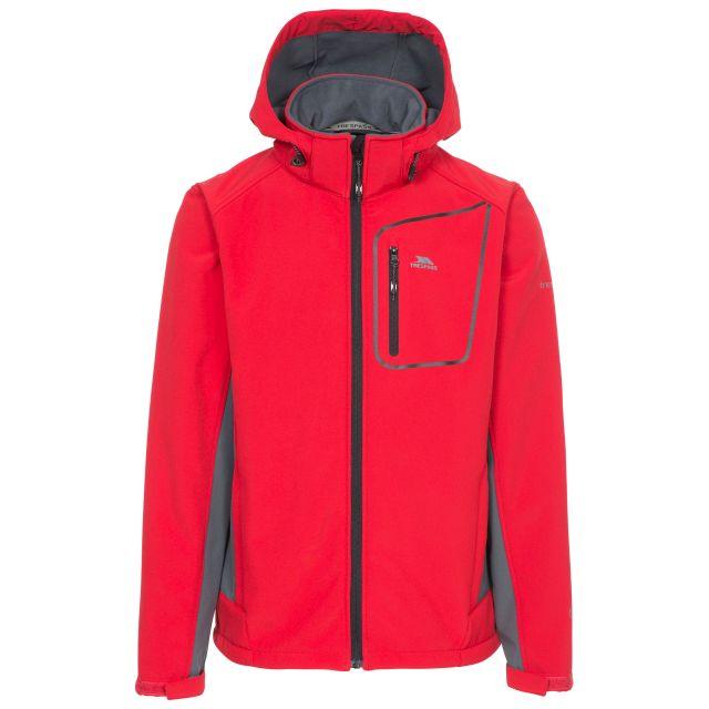 Strathy II Men's Softshell Jacket  in Red