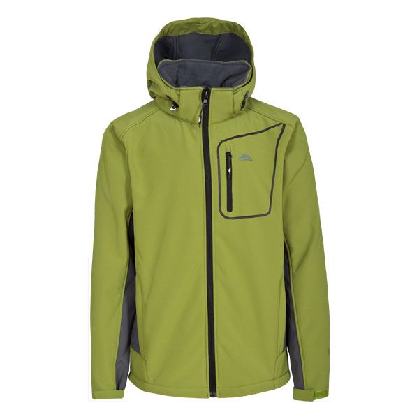 Strathy II Men's Softshell Jacket  in Green