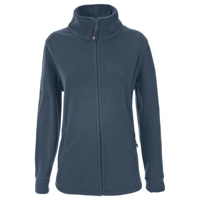 Strength Womens Full Zip Fleece Jacket in Navy