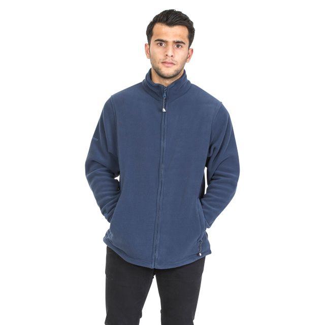 Strength Men's Fleece Jacket in Navy