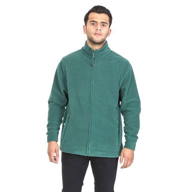 Strength Men's Fleece Jacket in Green