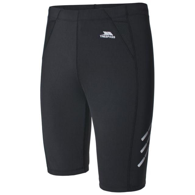 Striding Womens Black Running Shorts in Black