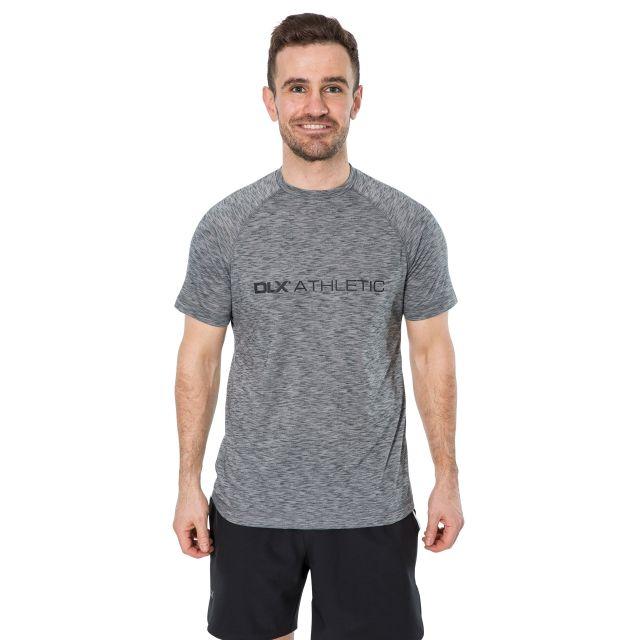 Striking Men's DLX Quick Dry Active T-Shirt in Light Grey
