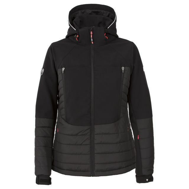 Stroll Womens Ski Jacket in Black