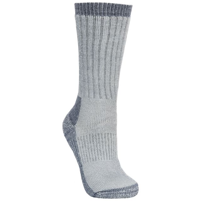 Strolling Men's DLX Walking Socks in Light Grey