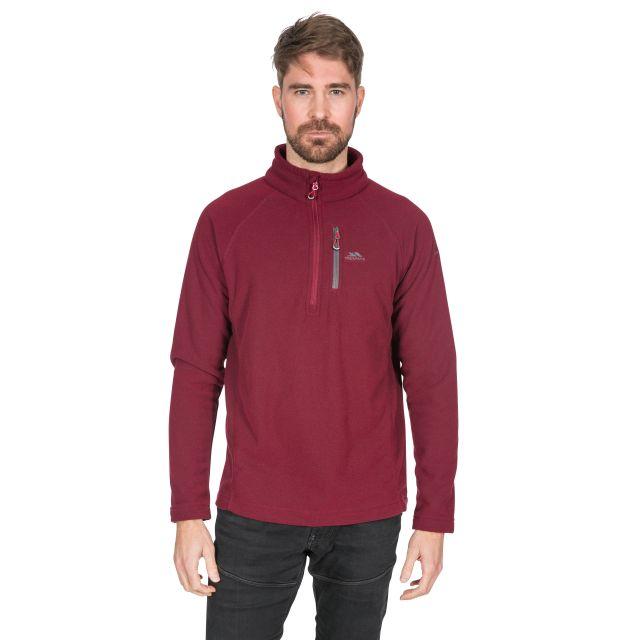 Structual Men's 1/2 Zip Fleece in Purple