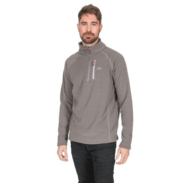 Structual Men's 1/2 Zip Fleece in Grey