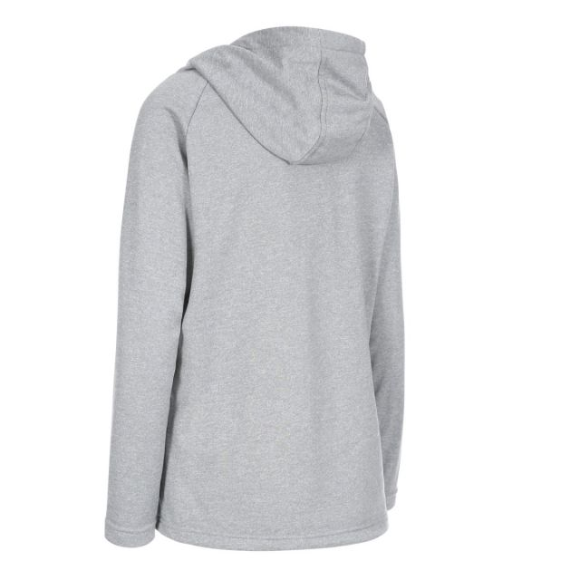 Stumble Women's Hooded Jumper in Light Grey