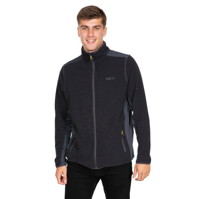 Sturgess Men's DLX Fleece Jacket in Grey