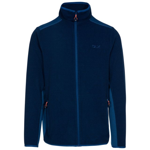 Sturgess Men's DLX Fleece Jacket in Navy