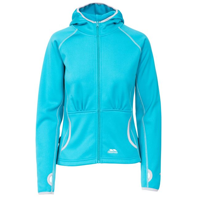 Sunnyside Women's Fleece Hoodie in Blue