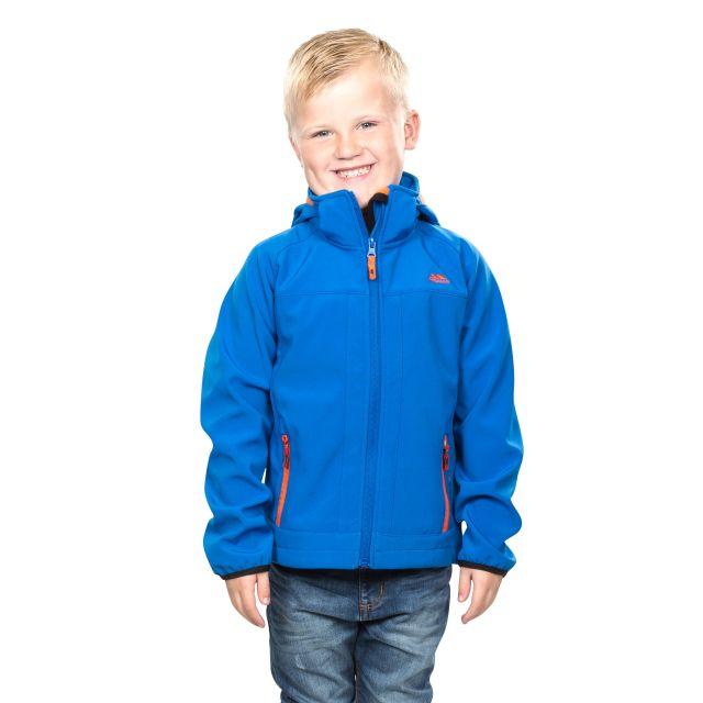 Swamp Kids' Softshell Jacket in Blue