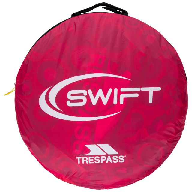 Swift2 Patterned Waterproof  2 Man Pop Up Tent in Pink