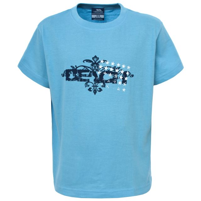 Swipe Kids' T-Shirt in Light Blue