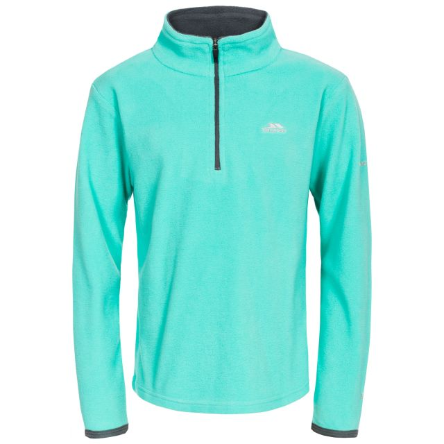 Sybil Kids' Half Zip Fleece in Light Blue