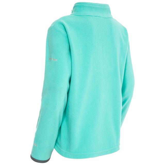 Sybil Kids' Half Zip Fleece in Light Blue