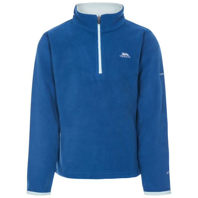 Sybil Kids' Half Zip Fleece in Blue