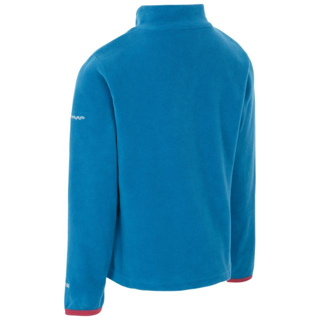 Sybil Kids' Half Zip Fleece in Cosmic Blue