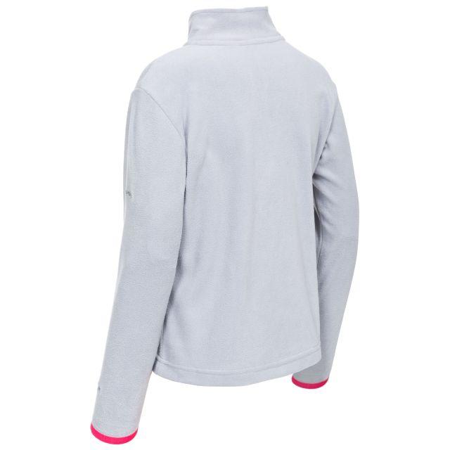 Sybil Kids' Half Zip Fleece in Grey