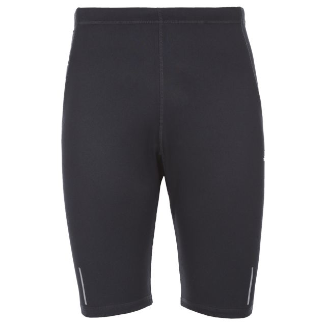 Syden Men's Active Shorts in Black