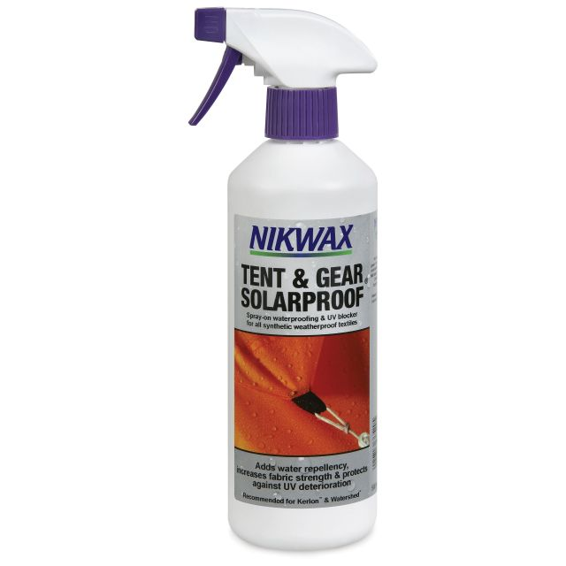 Nikwax Solarproof Protection Spray On Waterproofer for Tent & Gear 500ml in Assorted