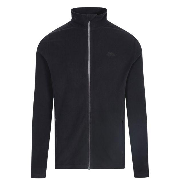 Tadwick Men's Fleece Jacket in Black