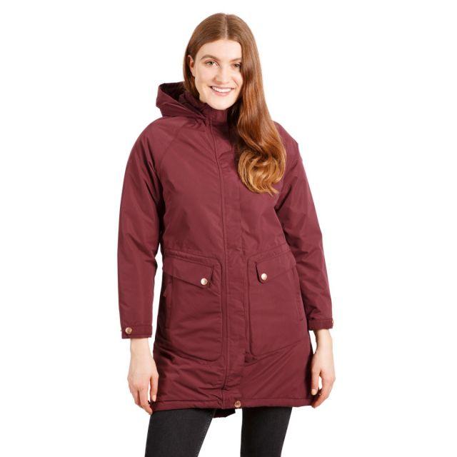 Tamara Women's Padded Waterproof Jacket in Fig