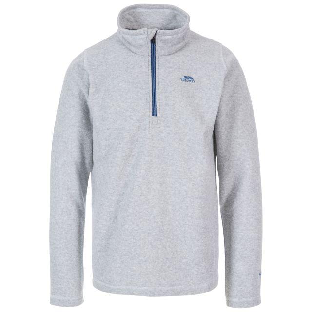 Tandle Men's 1/2 Zip Fleece in Light Grey
