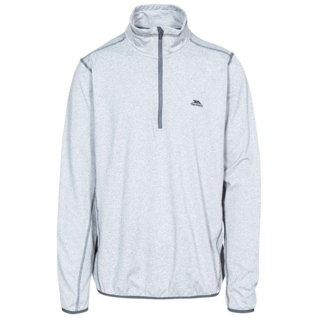 Tarned Men's Quick Dry Active Top in Light Grey