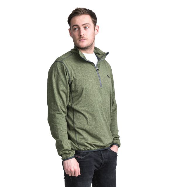 Tarned Men's Quick Dry Active Top in Green