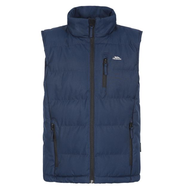 Taske Men's Padded Gilet in Navy