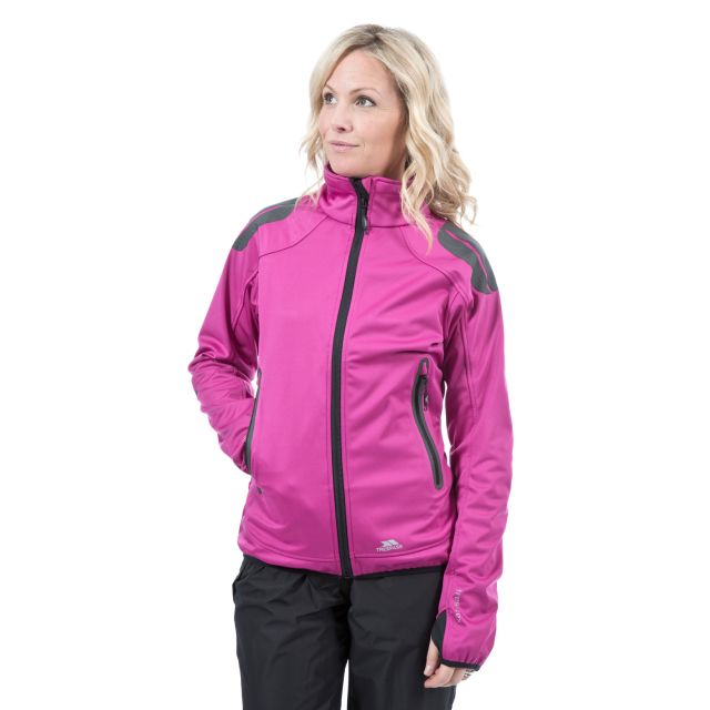 Taut Women's Softshell Jacket in Pink