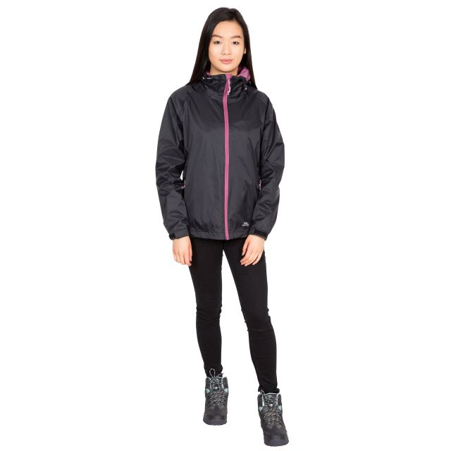 Tayah II Women's Waterproof Jacket in Black