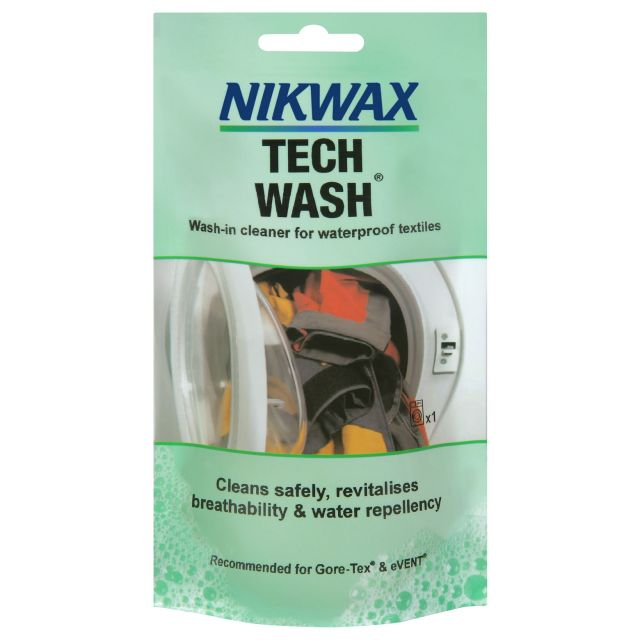 Nikwax Tech Wash In Cleaner Single Dose in Assorted